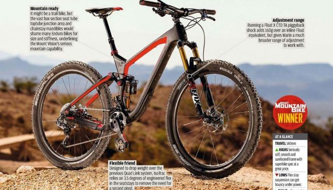 Trail Tested: Marin Mount Vision C XM-Pro
