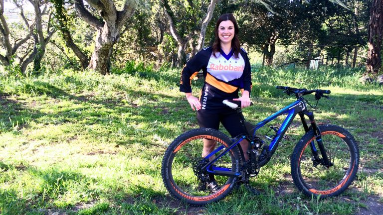 Brianne Spiersch and #Brizzlybear at the Sea Otter Classic