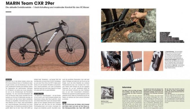 World of MountainBike Test: Marin Team CXR 29er