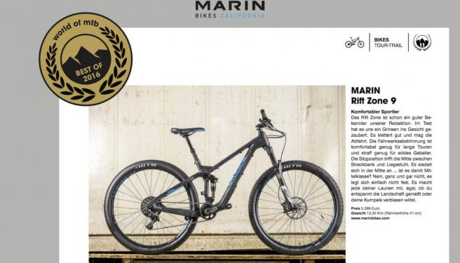 World of MTB - Best of 2016: Marin Rift Zone 9