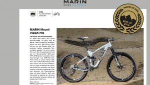 World of MTB - Best of 2016: Marin Mount Vision Pro